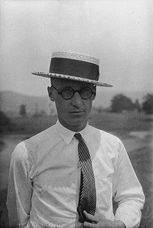 "John Scopes, the Biology Teach in ""Scopes Trial"""