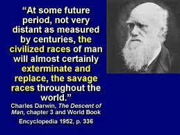 Darwin racism